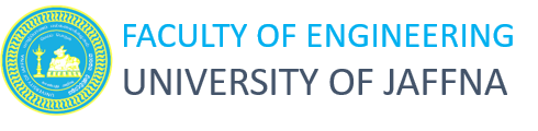 Faculty of Engineering, University of Jaffna Logo
